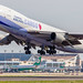 China Airlines Boeing 747-409F (B-18725) Taipei (RCTP/TPE) Departure