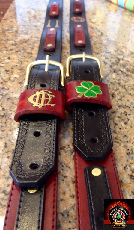 Custom two tone radio straps