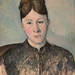 Paul Cézanne, Portrait of Madame Cézanne, ca. 1885, Metropolitan Museum of Art (1/17/15) by Sharon Mollerus