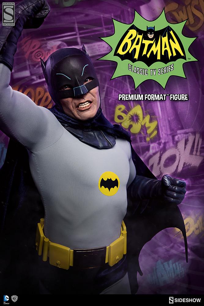 Sideshow Collectibles【電視影集版蝙蝠俠】Batman 1/4 比例 全身雕像