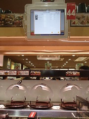 自動化絶大 日本的回転寿司 - naniyuutorimannen - 您说什么!