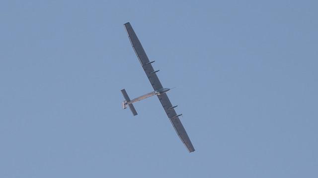 Solar Impulse 2 Landing at KABE