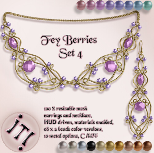 !IT! - Fey Berries Set 4 Image