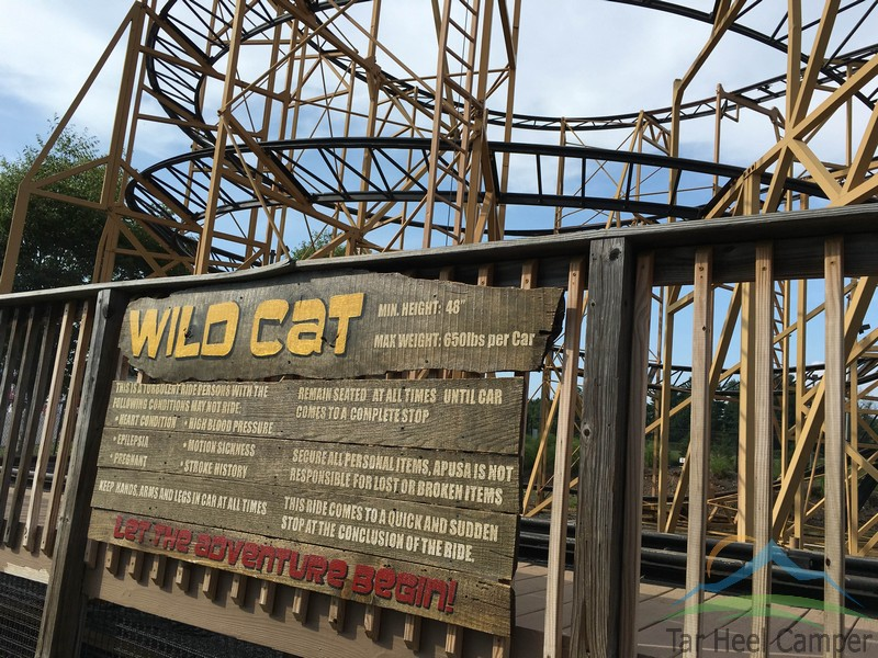 Adventure Park USA - Wildcat