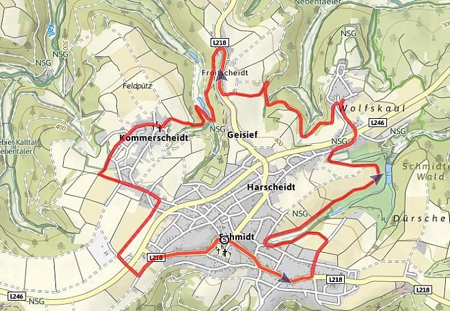 Pilgerweg Schmidt