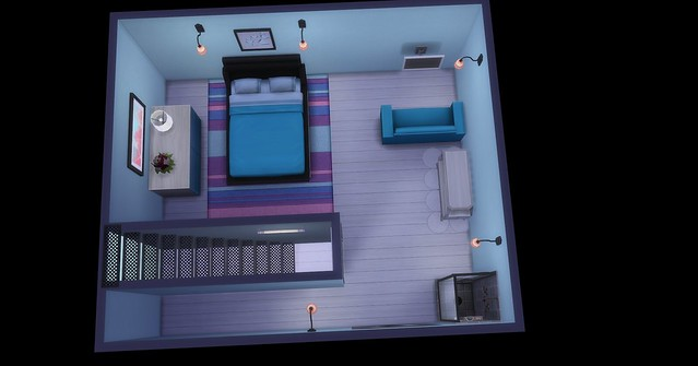 New layout for Lexi's living quarters