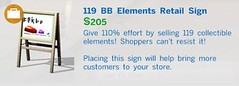 119 BB Elements Retail Sign