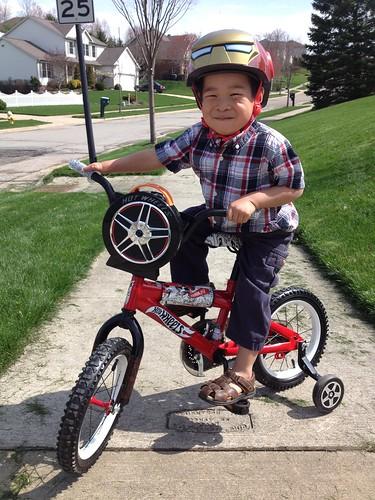 Henry's New Bike