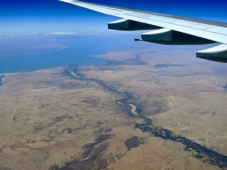Turkwel River and Lake Turkana
