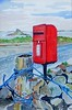 Postbox Scilly (sold) 24cm x 28cm