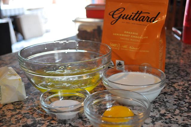 Classic Chocolate Soufflés