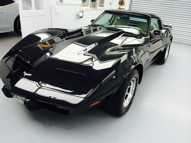 Corvette Stingray, Mild Correction Detail