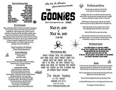 goonies map back