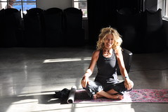 Yoga... light, shadow & strength
