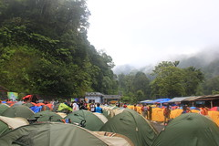 Morning View at The Camping Ground