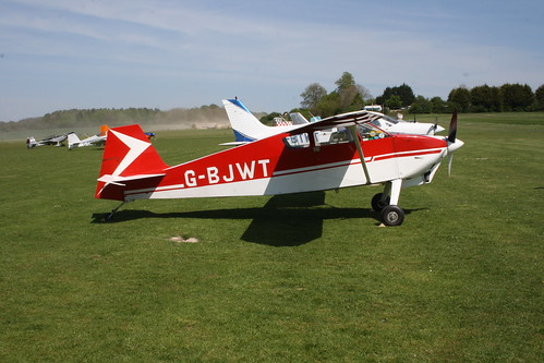 G-BJWT Whitman W-10 Tailwind Popham