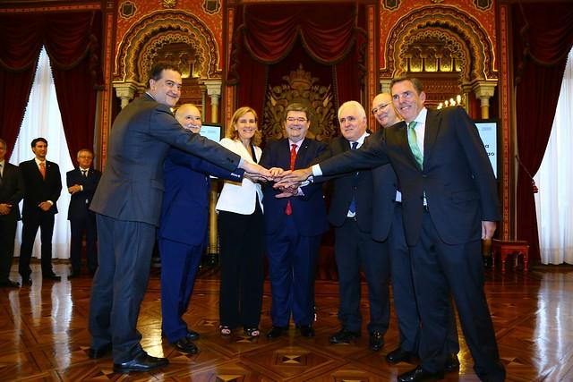 El Ayuntamiento de Bilbao, IBM, BBK, Iberdrola, Euskaltel, MONDRAGON Corporación y la Universidad de Deusto crean el Centro de Innovación de Bilbao - Bilbao Berrikuntza Garage