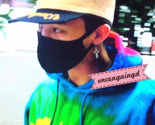 GD Incheon Airport Seoul on the way to LA 18 04 2014 (7)