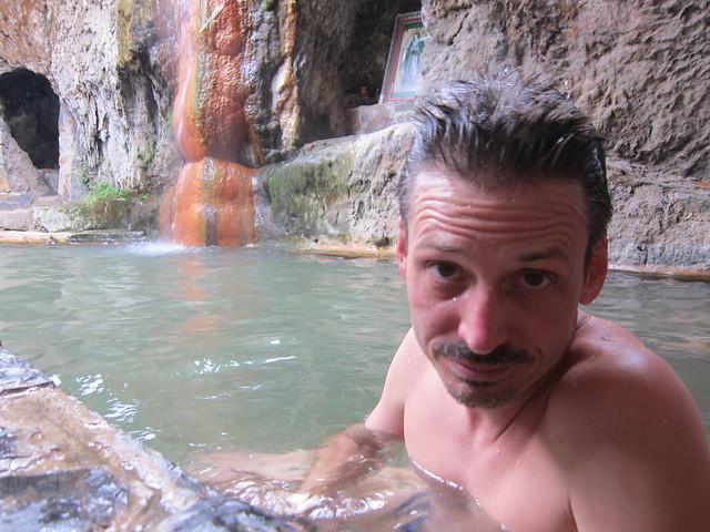 At Huancahuasi Hot Springs