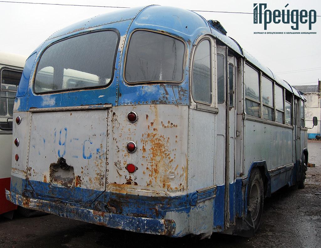 ЛиАЗ-158 вид сзади