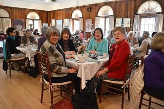 009_FundraiseApr2015-Kathy Hutchins, Lockie Proctor, Sara Ritchie, and Susan Finley