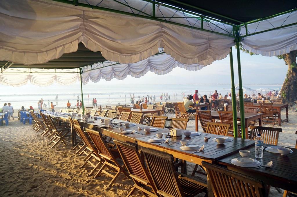 jimbaran beach - seafood - night time -007