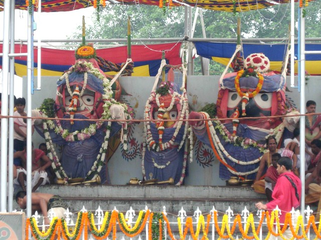 Deva Snana Purnima, celebration of Lord Jagannath Bathing