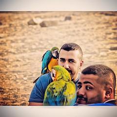 'في النهاية لن نذكر كلمات أعدائنا، بل صمت أصدقائنا'  صورة مع الحبيب بوعلي - حسين السلمان ، بمناسبة سفره و افتكيت منه الحمدلله و طيوره راح يشر�