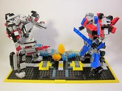 Transformers- Ara's verse- Optimus Prime vs. Megatron