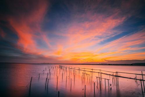 sunrise canon dawn wideangle wetlands taichung 6d 日出 高美 gaomei 火燒雲 ef1635mmf4lisusm