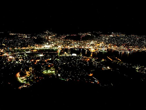 The lights of Nagasaki