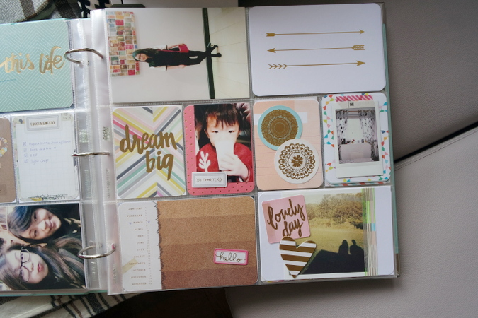 Daisybutter - Hong Kong Lifestyle and Fashion Blog: Project Life scrapbook 2015, project life ideas, project life process