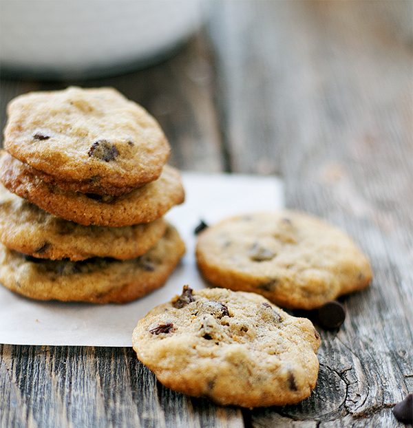 mini chocolate chip cookies | heathersfrenchpress.com