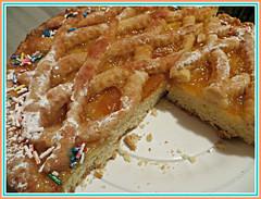 Apricot Tart-Cake