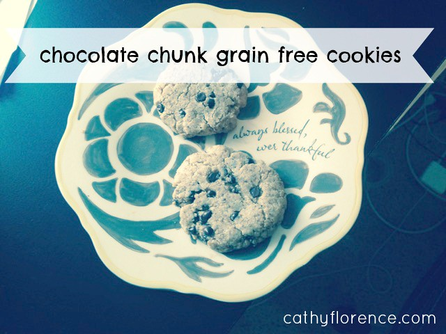 Chocolate Chunk Grain Free Cookies