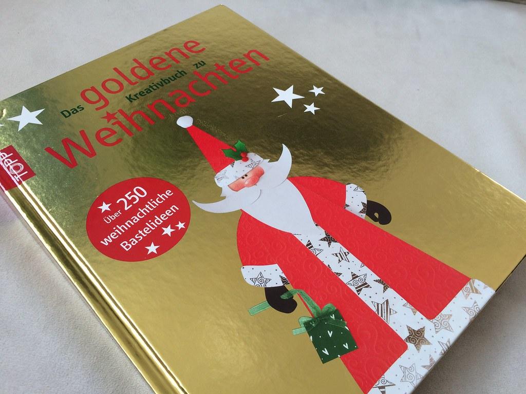 Das goldene Kreativbuch zu Weihnachten