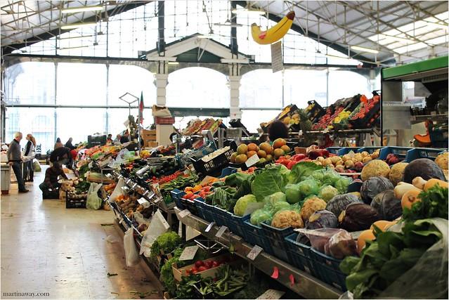 Mercado da Ribeira.