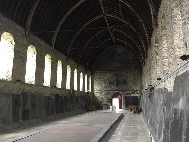 Museo de las lápidas en la Abadía de San Bavón (Gante, Flandes)