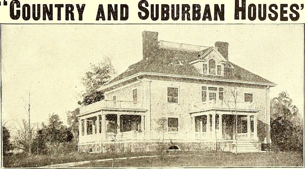 American Homes Syracuse Ny >> Image From Page 416 Of American Homes And Gardens 1905