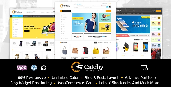 Catchy v1.1 – Multipurpose WooCommerce Theme