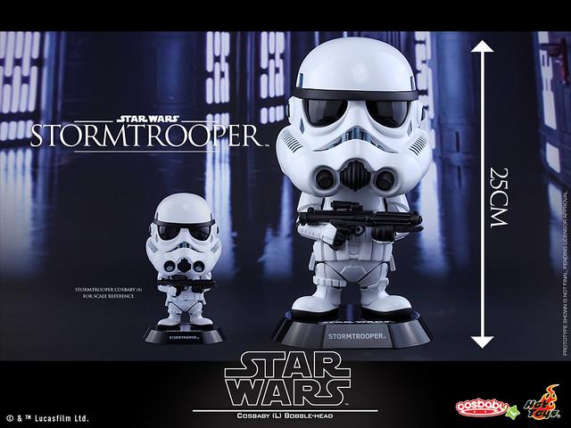 Hot Toys – COSB289 –【帝國風暴兵 a.k.a. 白兵】星際大戰 Stormtrooper Cosbaby