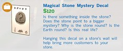 Magical Stone Mystery Decal