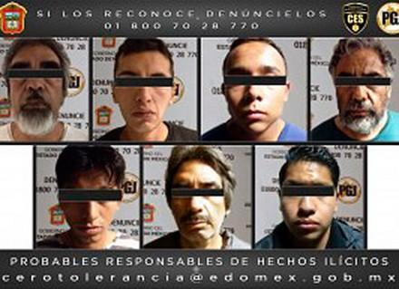Caen presuntos asesinos de cinco taxistas en Naucalpan