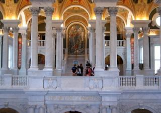 Obrázek Library of Congress, Thomas Jefferson Building. washingtondc libraries biblioteques libraryofcongress thomasjeffersonbuilding estatsunitsdamèrica bibliotequesnacionals bibliotecadelcongrés