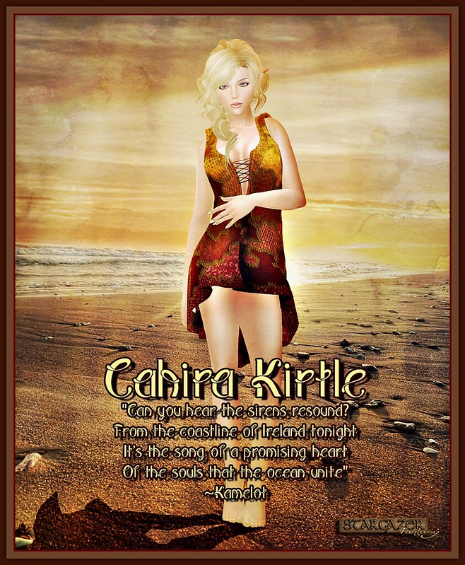 Stargazer Cahira Kirtle Dress Poster