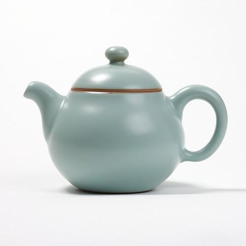 Gong Fu Cha en Celadon 'Fancy' de Lin's Ceramics