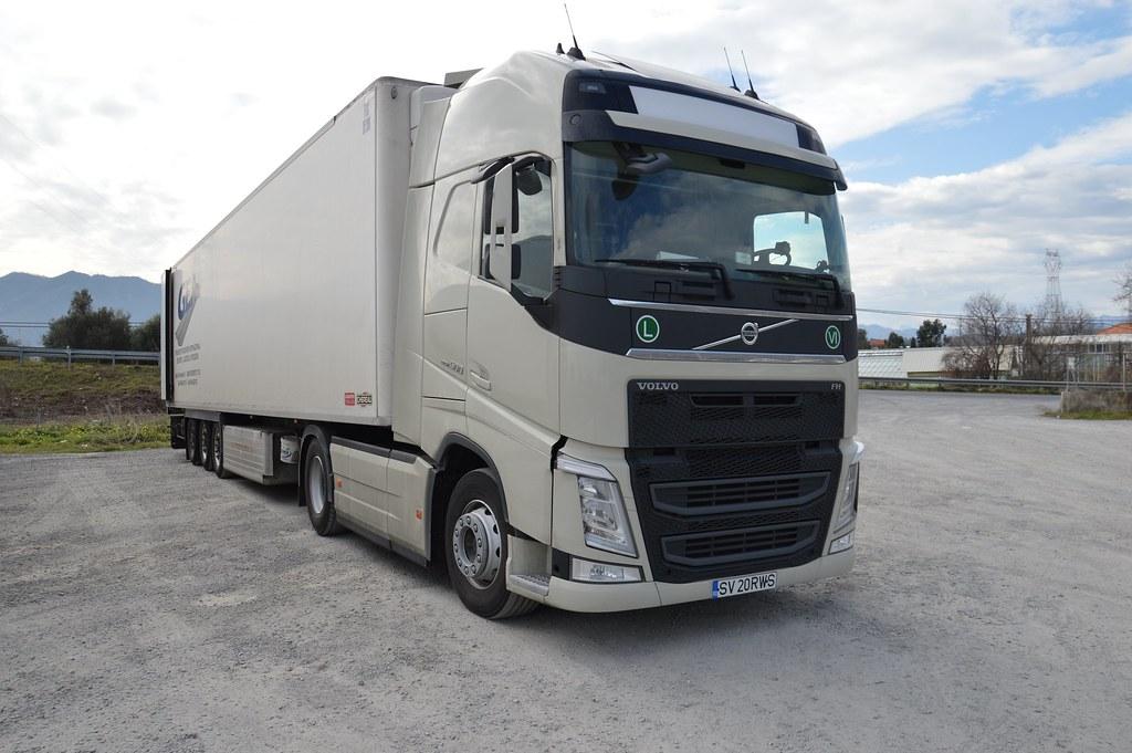 ro g e a srl new volvo fh 500 matte trucks 39 photography. Black Bedroom Furniture Sets. Home Design Ideas