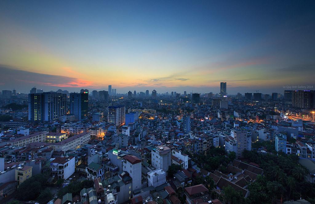 From a corner of Hanoi - Vietnam
