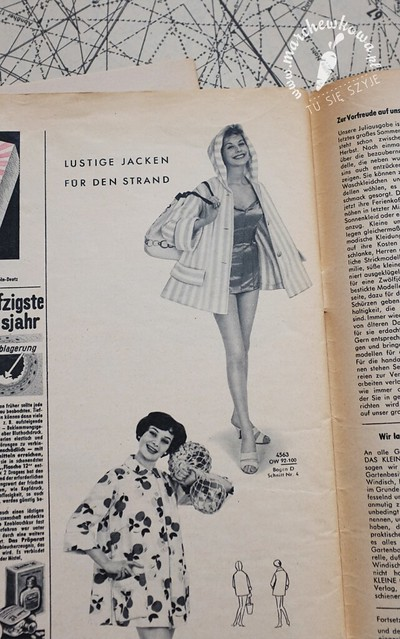 Beach coat, Neuer Schnitt 6/1959