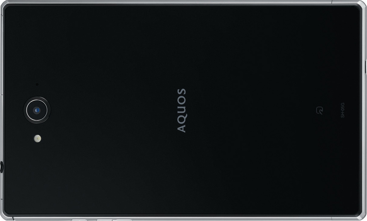 AQUOS PAD SH-05G full scale product image2